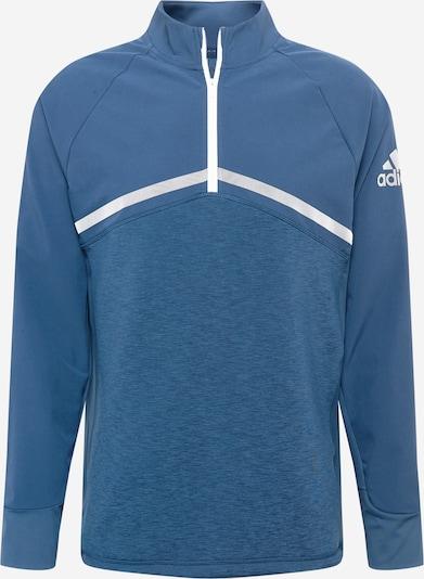 adidas Golf Sweat de sport 'HYBRID' en bleu / argent, Vue avec produit