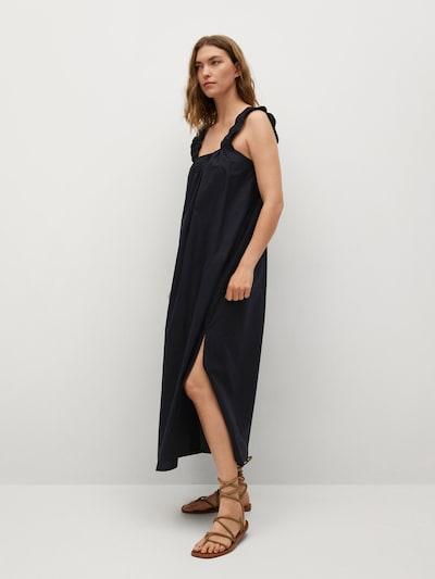 MANGO Kleid 'Delos' in schwarz, Modelansicht