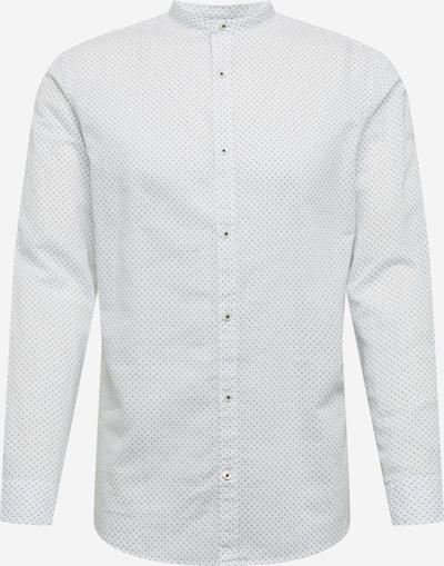 JACK & JONES Hemd in rauchblau / weiß, Produktansicht