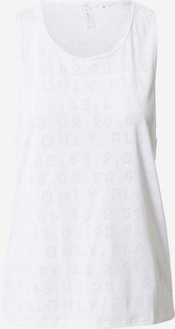 ONLY PLAY Funksjonsskjorte i hvit