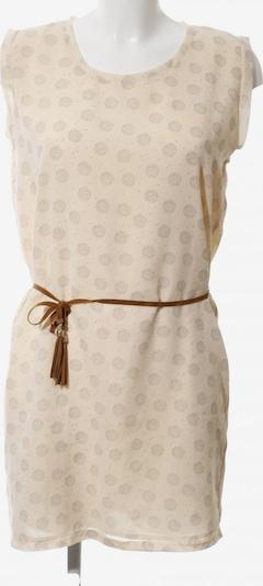 Kaporal Blusenkleid in S in braun / wollweiß, Produktansicht
