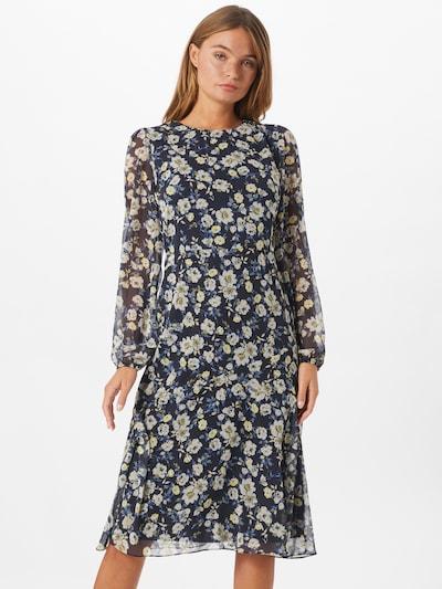 Trendyol Šaty - noční modrá / mix barev, Model/ka