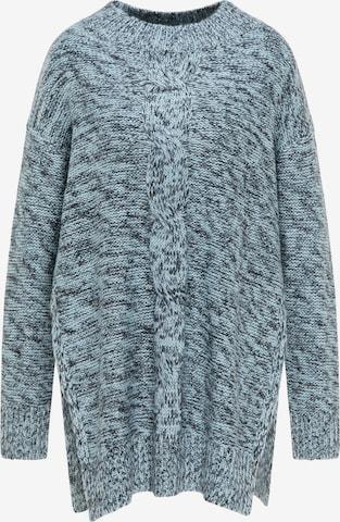 MYMO Oversized Sweater in Blue