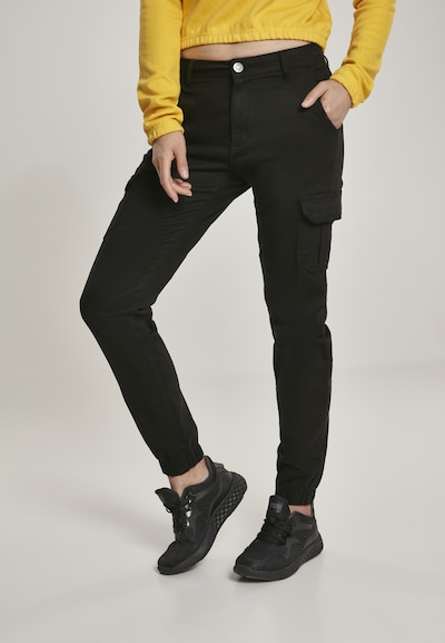 Urban Classics Карго панталон в черно, Преглед на модела