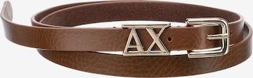 ARMANI EXCHANGE Belt in Brown