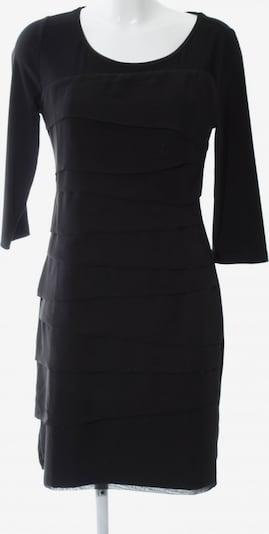 White House Black Market Volantkleid in S in schwarz, Produktansicht