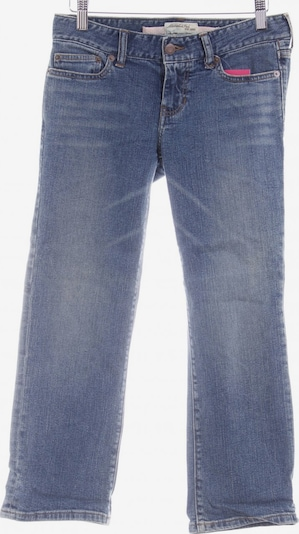 Abercrombie & Fitch 7/8 Jeans in 24-25 in blau: Frontalansicht