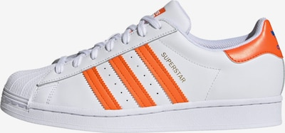 ADIDAS ORIGINALS Sneaker 'Superstar' in dunkelorange / weiß, Produktansicht