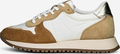 COX Sneaker in beige / braun / weiß, Produktansicht