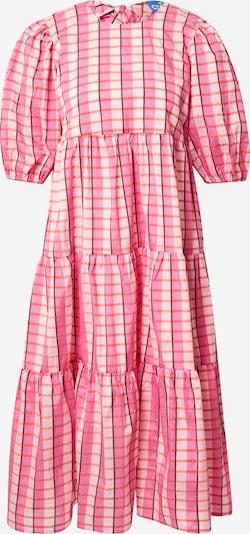 Crās Kleid 'Magdalenacras' in pink / rot / weiß, Produktansicht