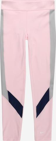 NIKE Spordipüksid, värv roosa
