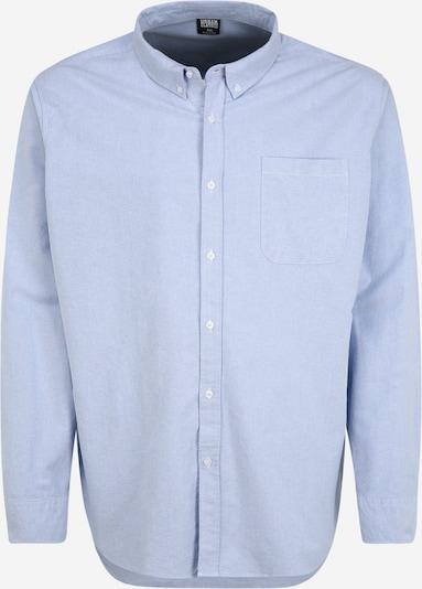 Urban Classics Plus Size Риза 'Oxford' в светлосиньо, Преглед на продукта