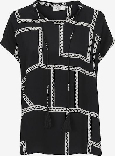 Masai Top 'Edora' in schwarz / weiß, Produktansicht
