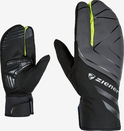 ZIENER Athletic Gloves 'DALYO AS(R)' in Yellow / Grey, Item view