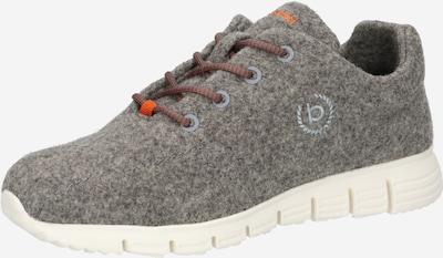 Sneaker low bugatti pe albastru fumuriu / gri fumuriu / portocaliu, Vizualizare produs