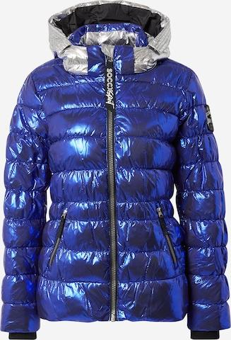 Soccx Between-Season Jacket in Blue
