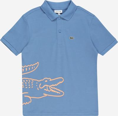 LACOSTE T-Shirt en bleu fumé / orange pastel, Vue avec produit