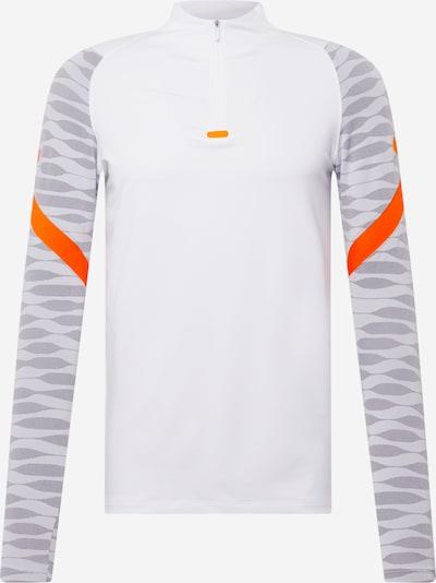 Tricou funcțional 'Strike' NIKE pe gri / gri deschis / portocaliu / alb, Vizualizare produs