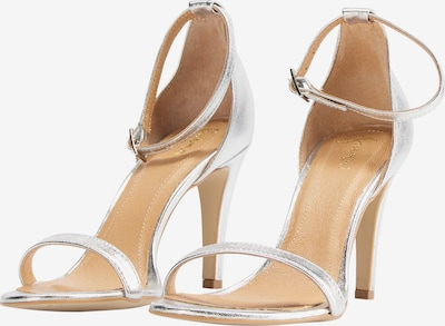 faina faina High-Heel-Sandalette in silber, Produktansicht