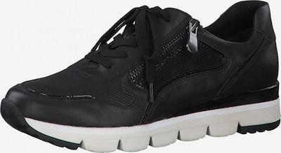 Sneaker low MARCO TOZZI pe negru, Vizualizare produs