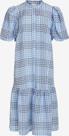 VILA Kleid in rauchblau / dunkelblau / weiß, Produktansicht