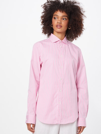 Bluză 'GEORGIA' POLO RALPH LAUREN pe roz / alb, Vizualizare model