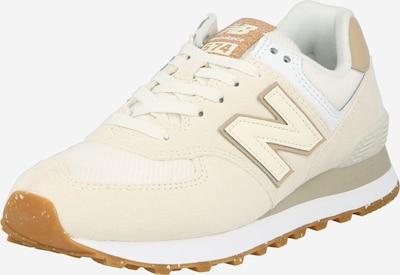 Sneaker low '574' new balance pe bej / bej deschis / alb, Vizualizare produs