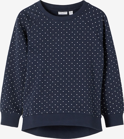 NAME IT Sweatshirt 'Venus' in navy / weiß, Produktansicht