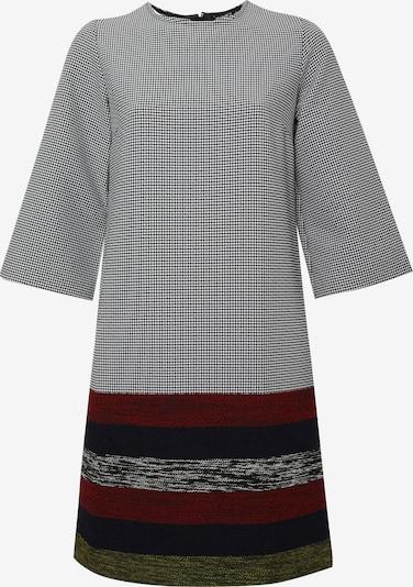 Madam-T Kleid 'MILANIKA' in rot / schwarz / weiß, Produktansicht