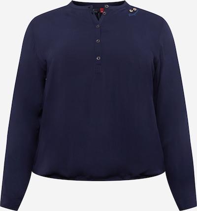Ragwear Plus Blusa 'RICOSSA' en navy, Vista del producto