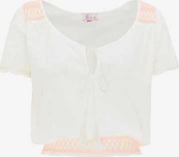 IZIA Blusenshirt in Weiß
