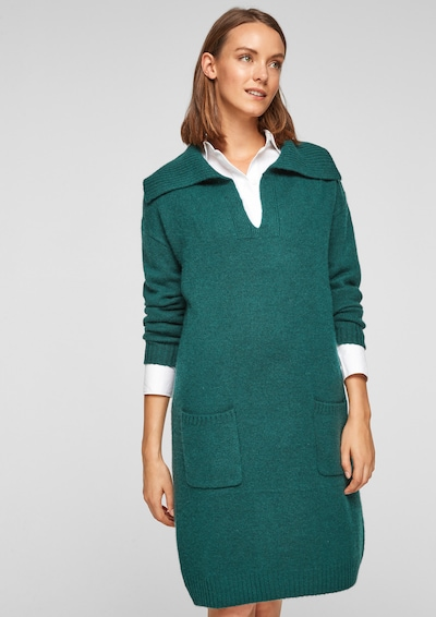s.Oliver Dress in Dark green, View model