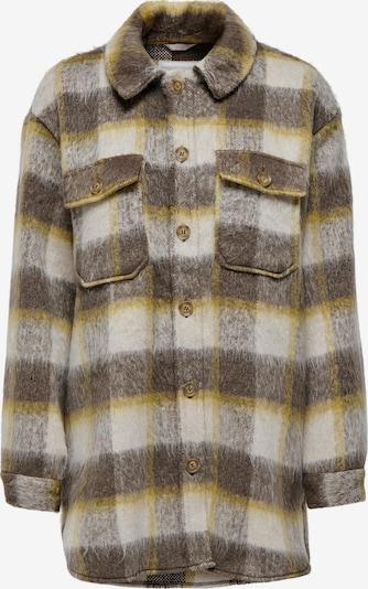 ONLY Jacke 'Epic' in beige / braun / gelb, Produktansicht