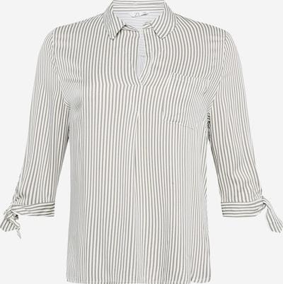 Z-One Blouse 'Belina' in khaki / white, Item view