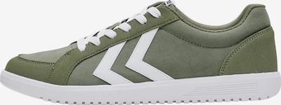 Hummel Sneakers laag in de kleur Kaki / Wit, Productweergave