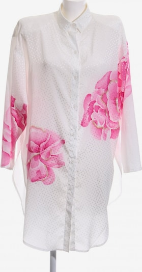 Sandra Pabst Long-Bluse in M in pink / weiß, Produktansicht