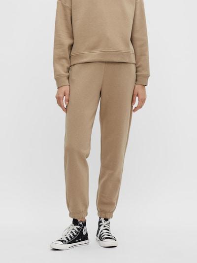 Kelnės 'Chilli' iš PIECES, spalva – gelsvai pilka spalva, Modelio vaizdas