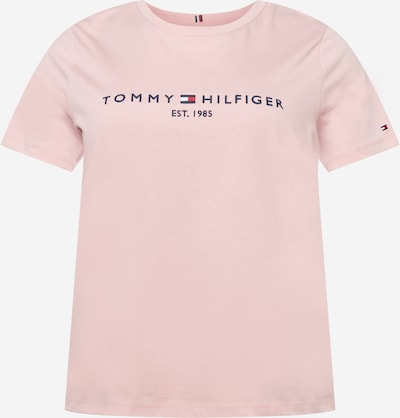 Tommy Hilfiger Curve Shirt in navy / hellpink / rot / weiß, Produktansicht