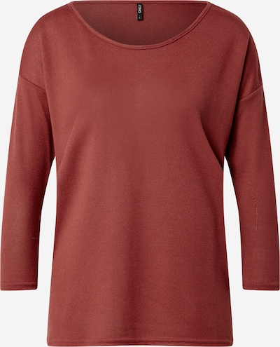 Maglietta 'ELCOS' ONLY di colore rosso ruggine, Visualizzazione prodotti