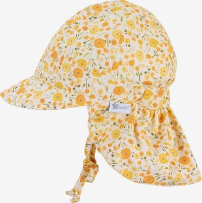 STERNTALER Schirmmütze in gelb / grün / weiß, Produktansicht