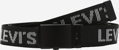 LEVI'S Gürtel 'TICKFAW' in schwarz / weiß, Produktansicht