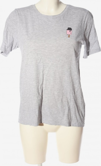 PIECES T-Shirt in L in hellgrau, Produktansicht