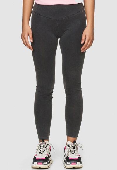 Cotton Candy Leggings 'SADE' in schwarz, Modelansicht