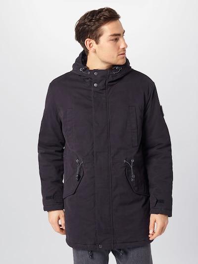 Ilga žieminė striukė iš Marc O'Polo DENIM , spalva - juoda, Modelio vaizdas
