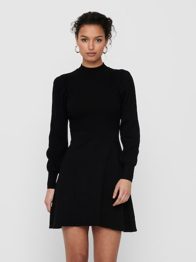 ONLY Knit dress 'Yara' in black, View model
