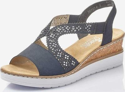 RIEKER Sandale in blau, Produktansicht