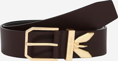 PATRIZIA PEPE Bälte 'CINTURA' i kastanjebrun / guld, Produktvy