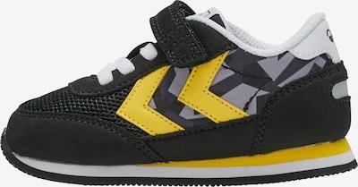 Hummel Sneaker in gelb / grau / schwarz, Produktansicht