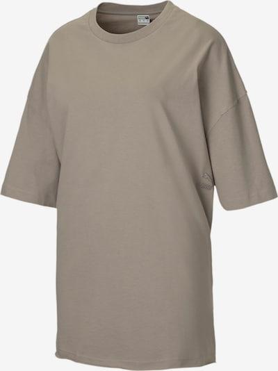 PUMA Oversized shirt in de kleur Lichtgrijs, Productweergave