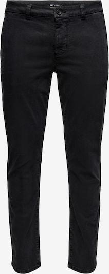 Pantaloni chino 'Pete' Only & Sons di colore nero, Visualizzazione prodotti